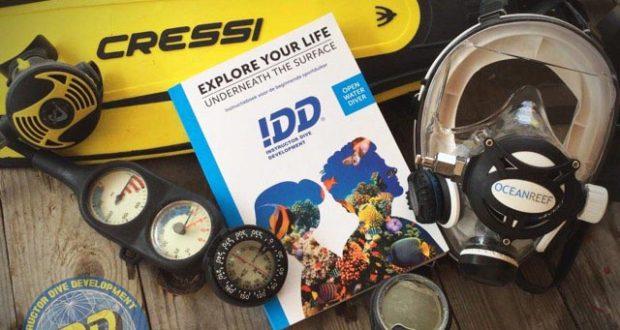 IDD Full Face Open Water Diver